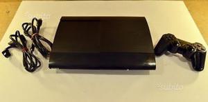 Ps3 super slim 12gb +80gb hard disk