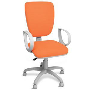 Sedie Da Ufficio Arancione.Sedia Girevole Alzo Gas Ufficio Arancio Cameretta Posot Class