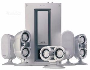 Sony amplificatore + casse 5+1 + letto cd SERIE QS