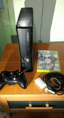 Xbox 360 slim 250 giga