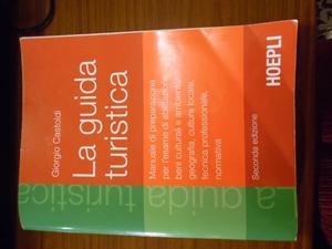 Manuale La guida turistica Giorgio Castoldi edizione Hoepli