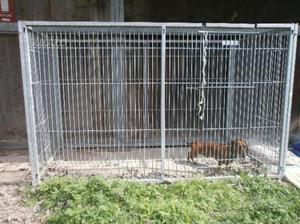 Recinto per cani recinto pieghevole cani e comune nascosto posot class - Recinto mobile per cani ...
