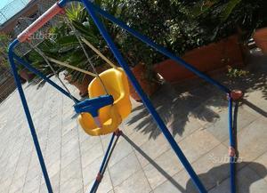 Altalena chicco con 2 seggiolini vigonza posot class for Altalena chicco da giardino