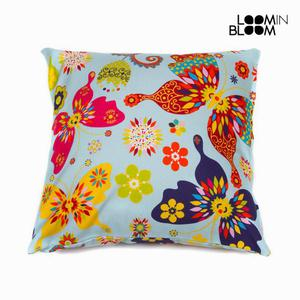 Cuscino Paula Blu By Loomin Bloom