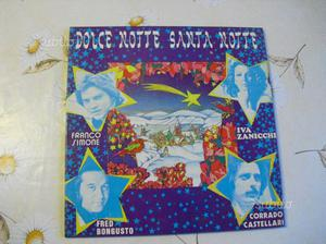 DOLCE NOTTE SANTA NOTTE disco vinile NATALE