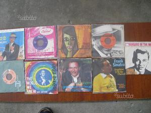 FRANK SINATRA in N.9 dischi vinile a 45 giri vari