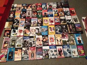 Lotto di 70 film in vhs ottimi