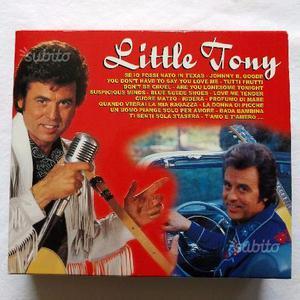 Musica Cofanetto 3 dischi Little Tony - Saar CD