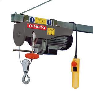 Paranco elettrico 900W max 500Kg fune 18mt Yamato