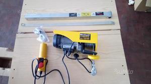 Paranco elettrico posot class for Bandiera per paranco elettrico