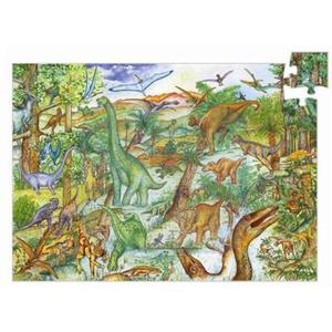 Puzzle Dinosauri 100 pezzi Djeco