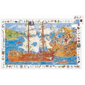 Puzzle Pirati 100 pezzi Djeco