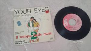 """Raro disco vinile 45 giri """"il tempo delle mele 2 """""""