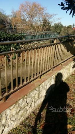 Ringhiera alluminio recinzione recinto