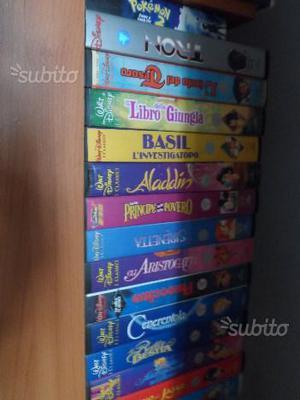 Videocassette originali cartoni animati
