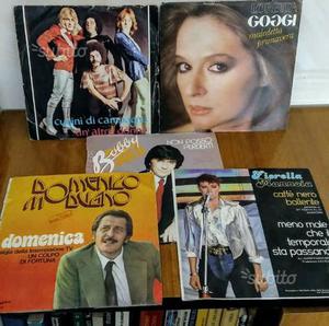 Vinili 45 giri musica italiana