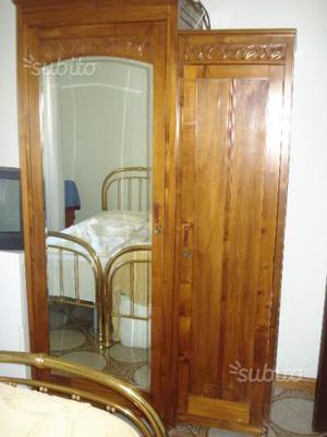 Armadio antico con specchio anni 50 posot class - Armadio ciliegio specchio ...