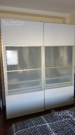 Guardaroba con 3 ante bianco birkeland ikea pax posot class - Ikea armadio pax ante scorrevoli ...