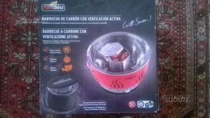 Barbecue a carbone con ventilazione attiva