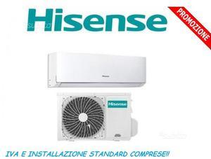 Condizionatore HISENSE COMFORT installato
