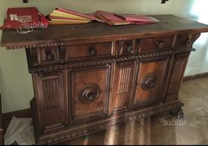 Credenza Arte Povera Antiquariato : Credenza da antiquariato in legno posot class