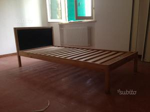Doghe In Legno Letto Singolo : Vendo letto singolo in legno ikea con doghe giá posot class