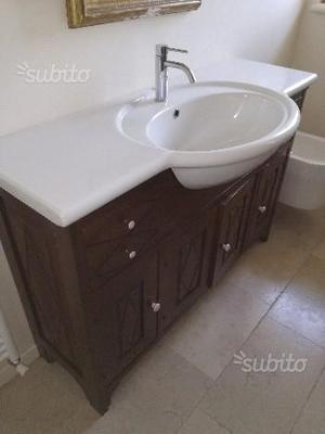 Mobile bagno legno massello dolomite
