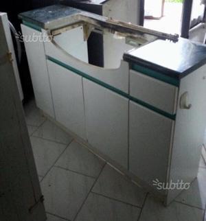 Mobile bagno doppio lavandino con specchiera posot class for Vendo mobile bagno