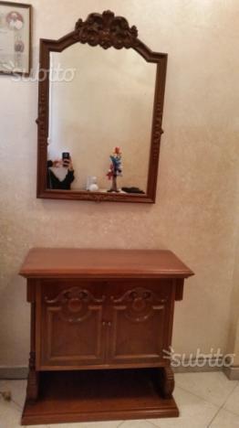 Consolle ingresso da parete con specchio posot class - Consolle con specchio per ingresso ...