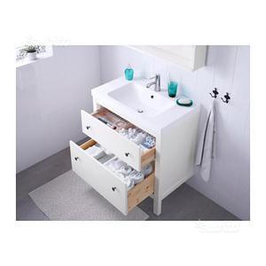 Mobile lavabo hemnes bianco