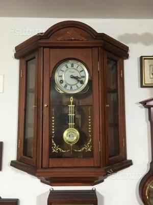 Orologio da parete in legno meccanico s carica pen