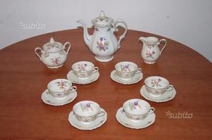 Servizio da the in ceramica bavaria