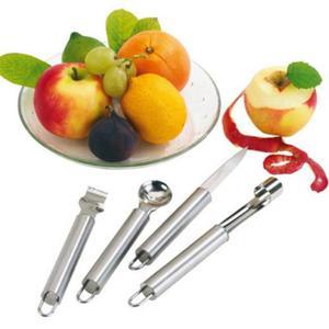 Set Di Coltelli Da Frutta In Acciaio Inox Con Gancio Per