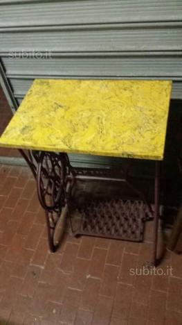 Vecchia base in ghisa per macchina da cucire posot class - Tavolo macchina da cucire ...
