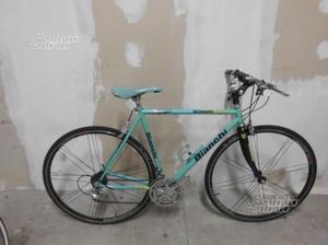 Bici da corsa trasformata touring in alluminio