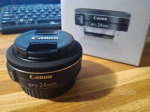 Canon pancake 24mm f2.8 STM perfetto