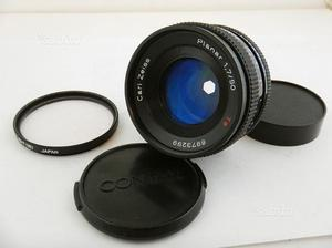 Contax 50mm f1.7 T* Planar Carl Zeiss + UV Filter
