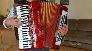 Fisarmonica paolo soprani 120 bassi professionale