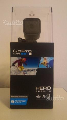 GoPro HERO Session NUOVA + Accessorio originale
