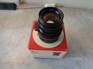 Leica 50mm summicron