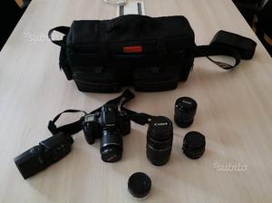 Macchina Fotografica Canon e obiettivi vari