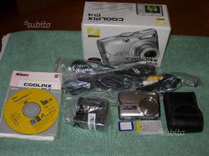 Nikon coolpix p4 fotocamera digitale da 8.1 mp