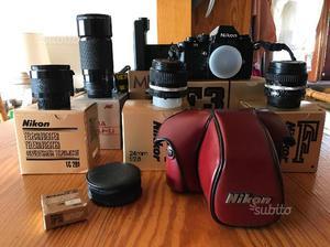 Nikon f3 + accessori