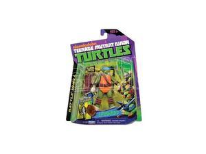 Ninja Turtles - Figura Mike Battaglia guscio Leonardo