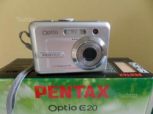 Pentax optio e20