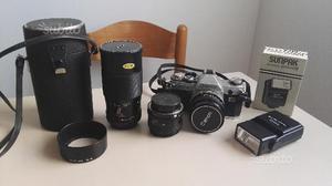 Reflex analogica Canon AT1 tenuta benissimo