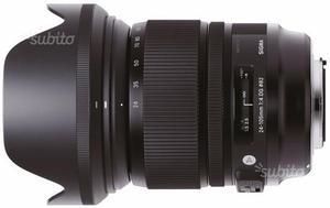 Sigma ART  f4 - Attacco Canon
