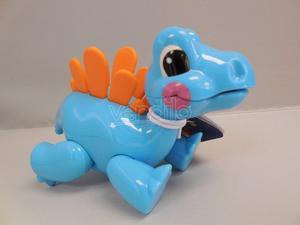 TOLO C Tolo -Dinosauro Blu(Giocattolo)