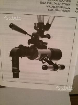 Telescopio con 3 ottiche