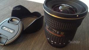 Tokina mm F4 IF DX II AT-X PRO attacco Nikon